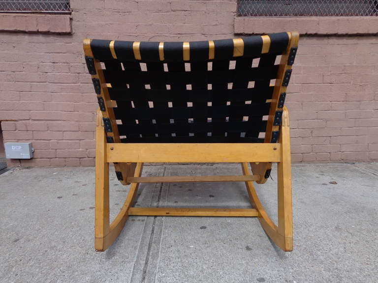 Ralph Rapson Rocking Chair For Knoll C 1945 At 1stdibs