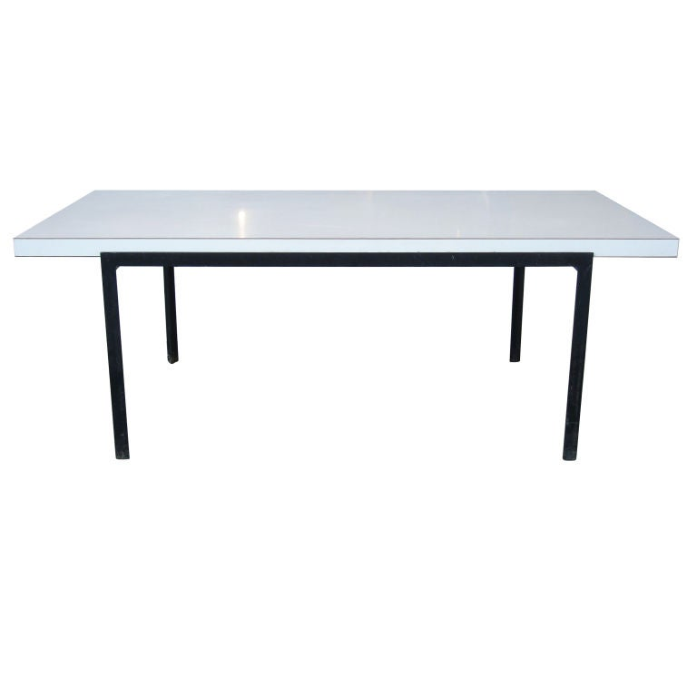Early T Angle Coffee Table By Florence Knoll 1950 At 1stdibs