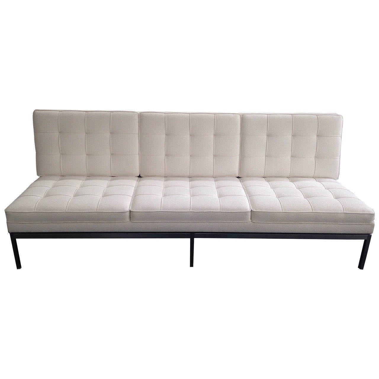 Florence Knoll Three Seat Sofa For Knoll International 1958 At 1stdibs