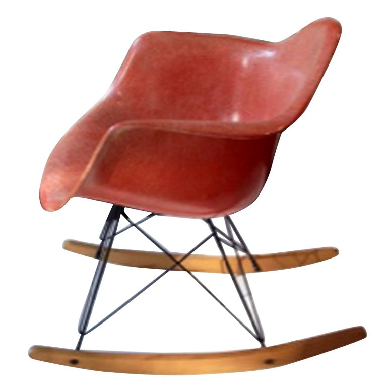 eames rar rocking chair c1960 herman miller at 1stdibs. Black Bedroom Furniture Sets. Home Design Ideas