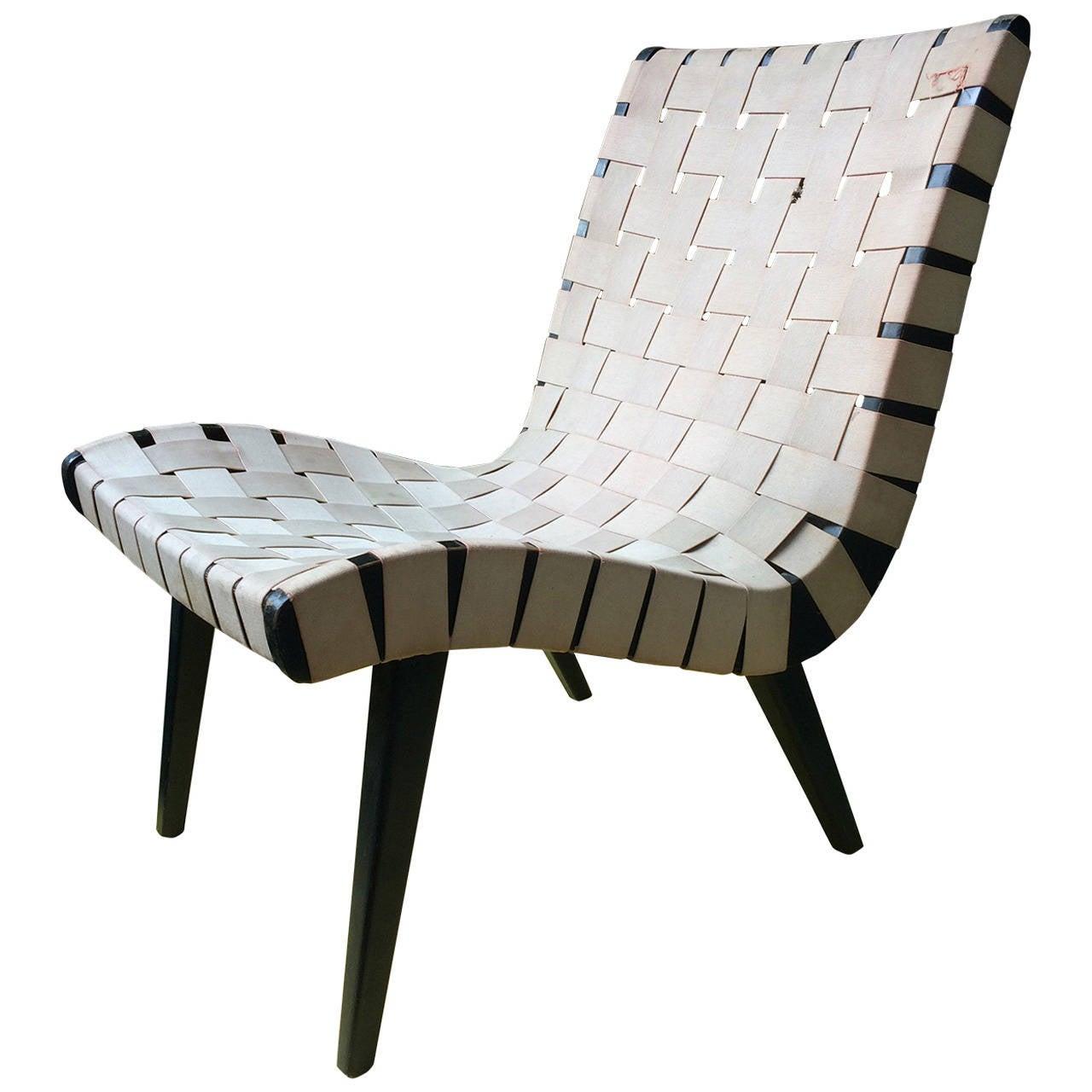 Jens Risom Chair Model 654w Knoll 1941 At 1stdibs