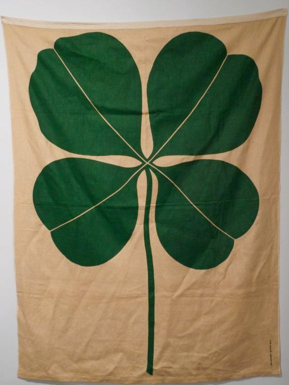 "Alexander Girard ""Clover"" Environmental Enrichment  Panel 1972 2"