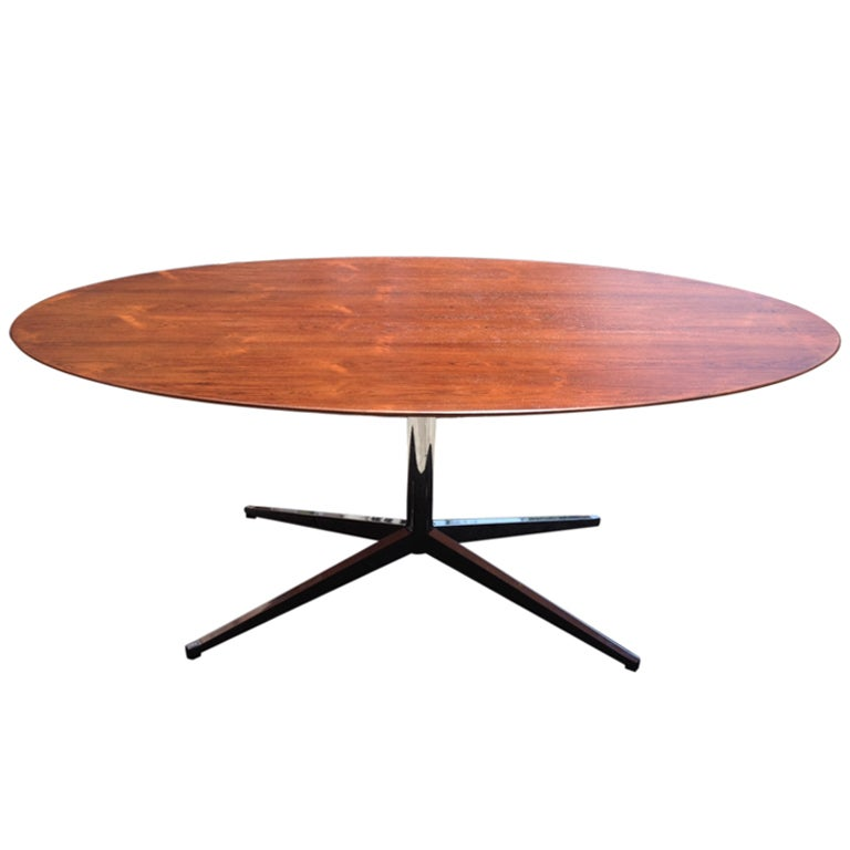 Florence Knoll Rosewood Dining Table Knoll 1960 At 1stdibs