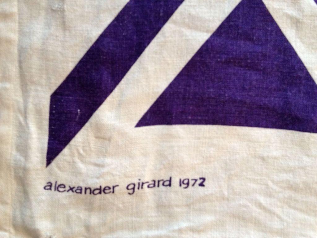Alexander Girard u0026quot;Geometric Cu0026quot; Environmental Enrichment Panel at 1stdibs