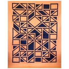 "Alexander Girard ""Geometric B"" Environmental Enrichment Panel"