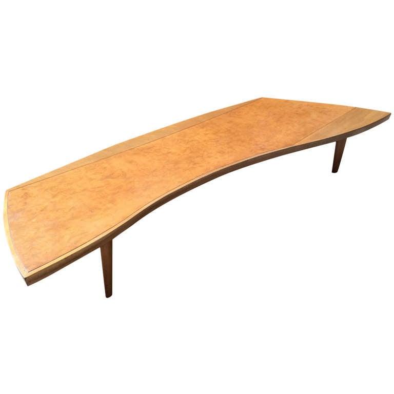 Sundra coffee table widdicomb furniture company c 1950s at 1stdibs