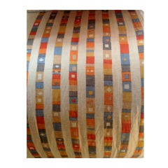 "Alexander Girard ""Super Stripe"" Textile for Herman Miller."
