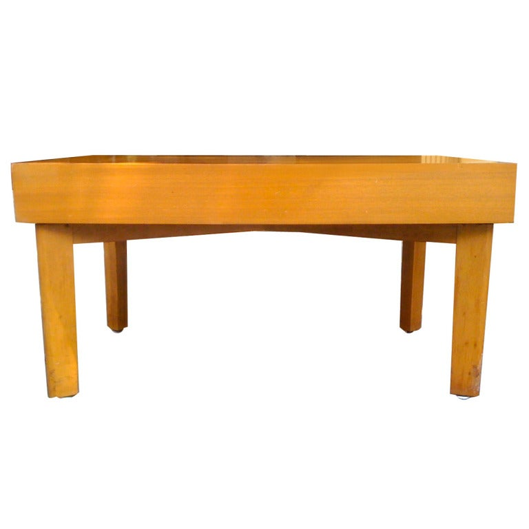 George Nelson Coffee Table With Trays Herman Miller 1948 At 1stdibs