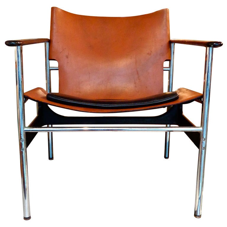 Charles Pollock Sling Lounge Chair Knoll International