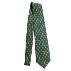 Rare Alexander Girard Silk Necktie. Herman Miller 1960