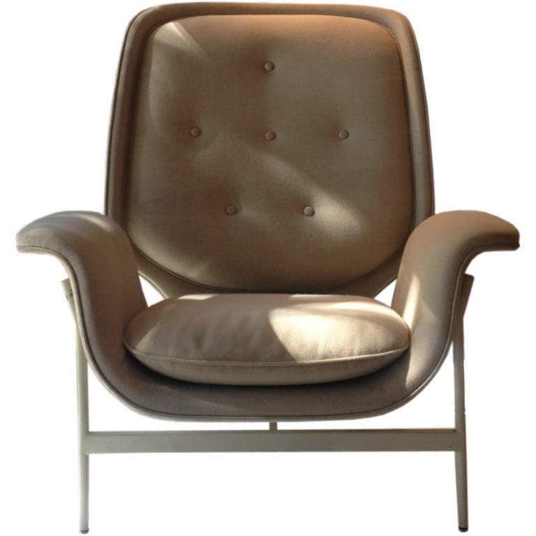 Very scarce kangaroo chair george nelson herman miller 1955 at