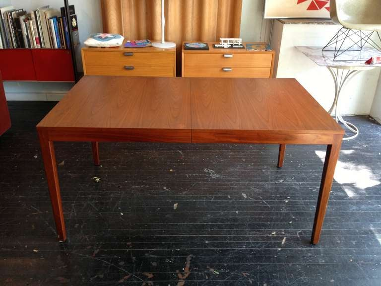 American George Nelson Extension Dining Table Herman Miller For