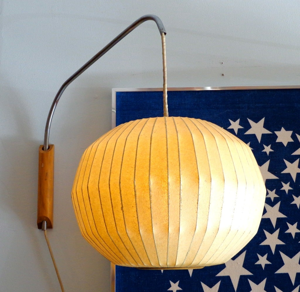 George Nelson Wall Mounted Bubble Lamps 1950 for Howard ...