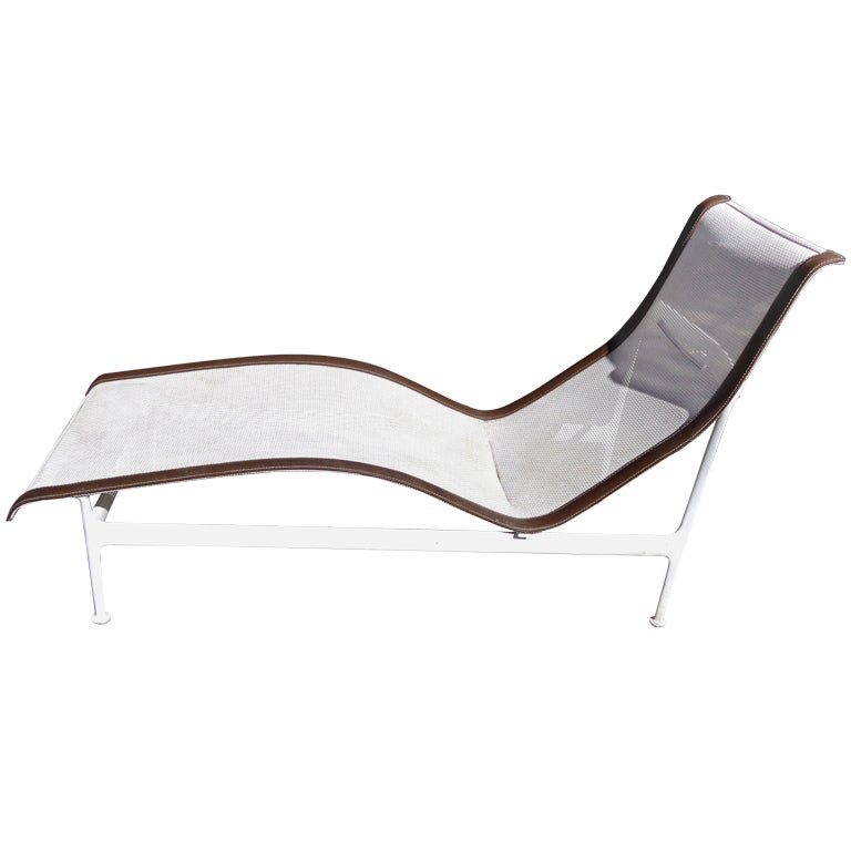 richard schultz outdoor chaise knoll at 1stdibs. Black Bedroom Furniture Sets. Home Design Ideas