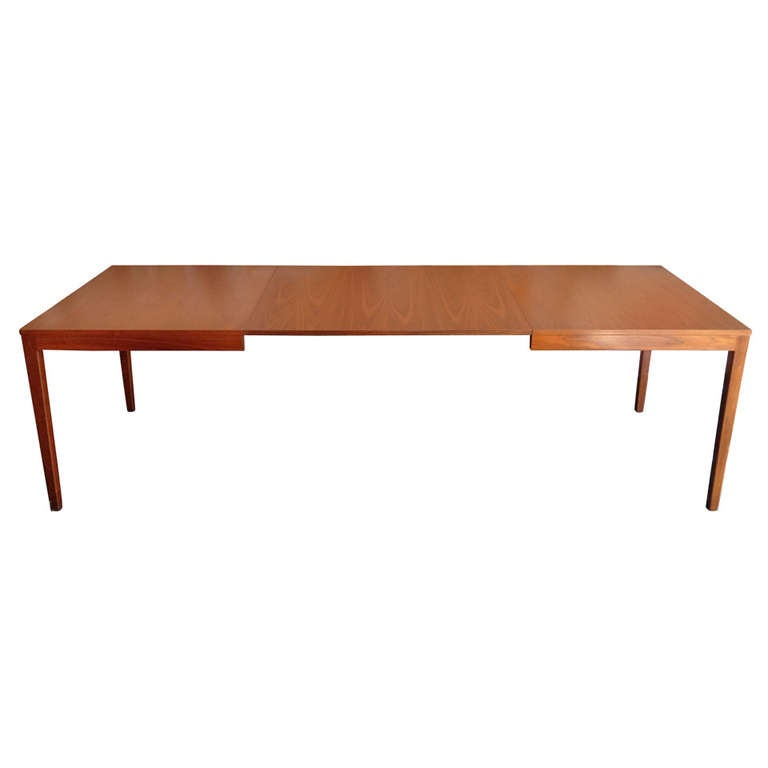 george nelson extension dining table herman miller at 1stdibs. Black Bedroom Furniture Sets. Home Design Ideas