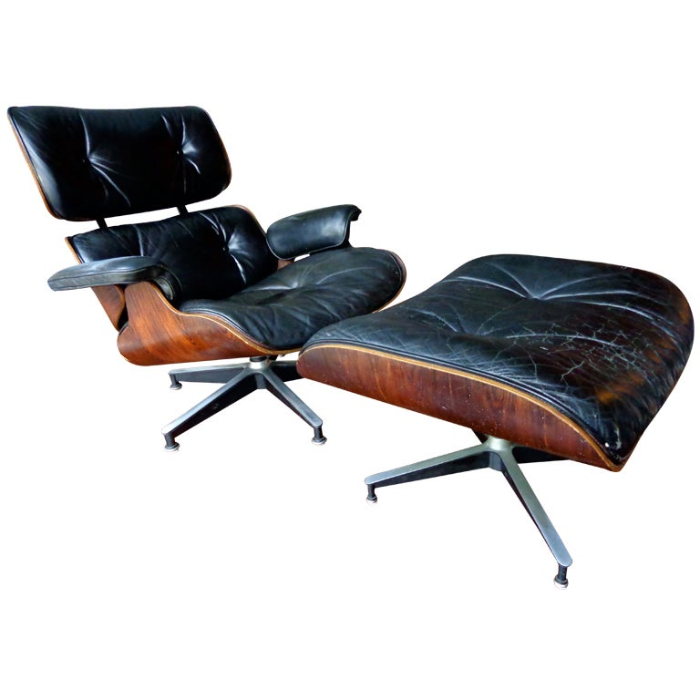 eames lounge chair and ottoman herman miller 1960 at 1stdibs