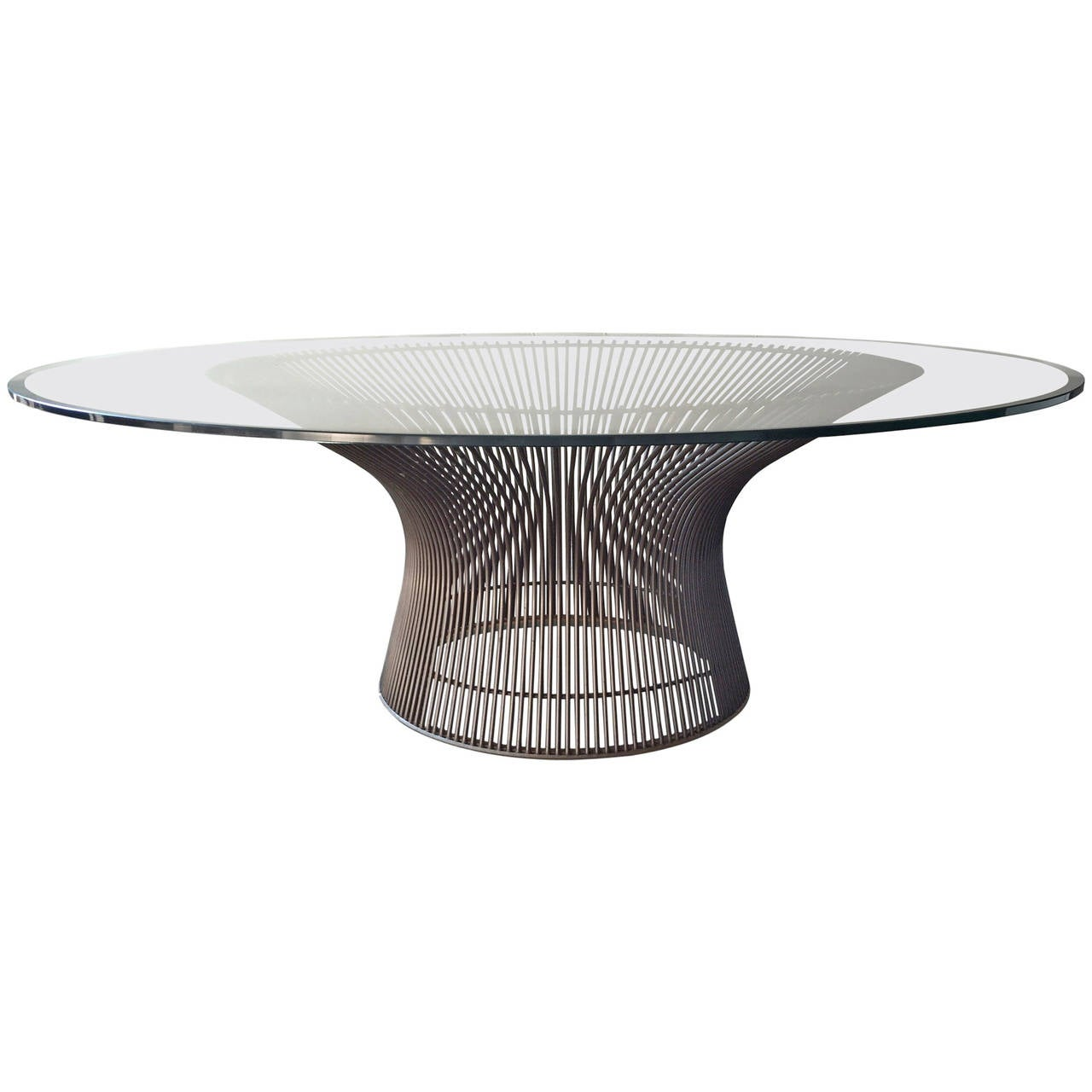 Warren Platner Bronze Coffee Table Knoll 1966 At 1stdibs