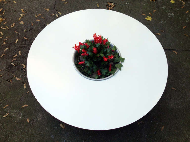 George Nelson for Herman Miller Coffee Table with Planter 1948  3