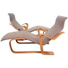 Marcel Breuer Reclining Chair(s) for Knoll, 1970