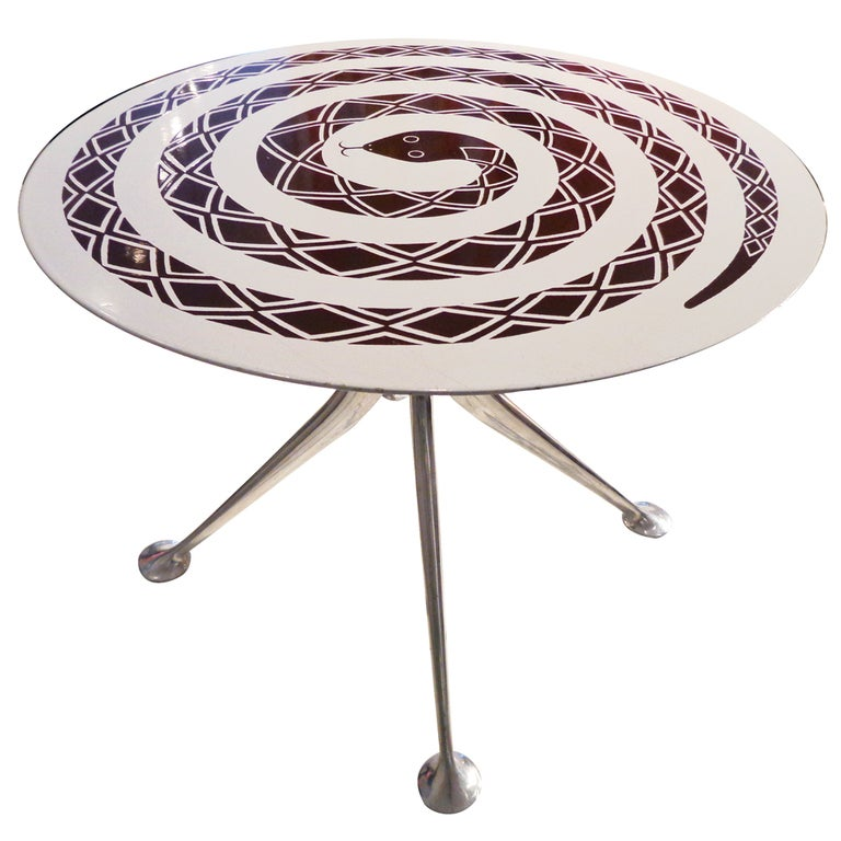 The Snake Table by Alexander Girard. Herman Miller 1967