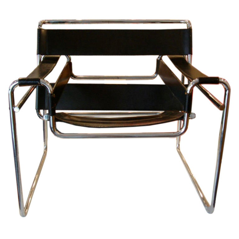 marcel breuer for knoll wassily chair at 1stdibs. Black Bedroom Furniture Sets. Home Design Ideas