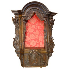 18th Century Oak Tabernacle from France