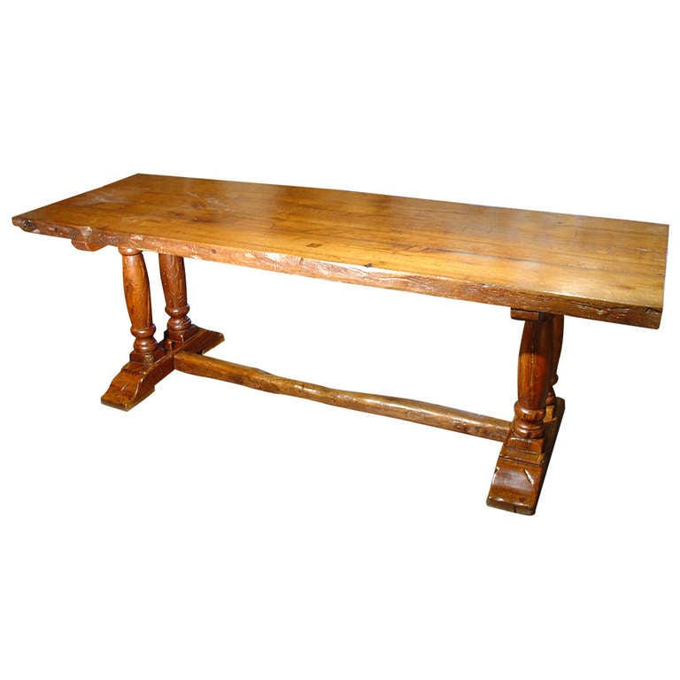 Antique Dining Table From Northern France Circa 1890 At