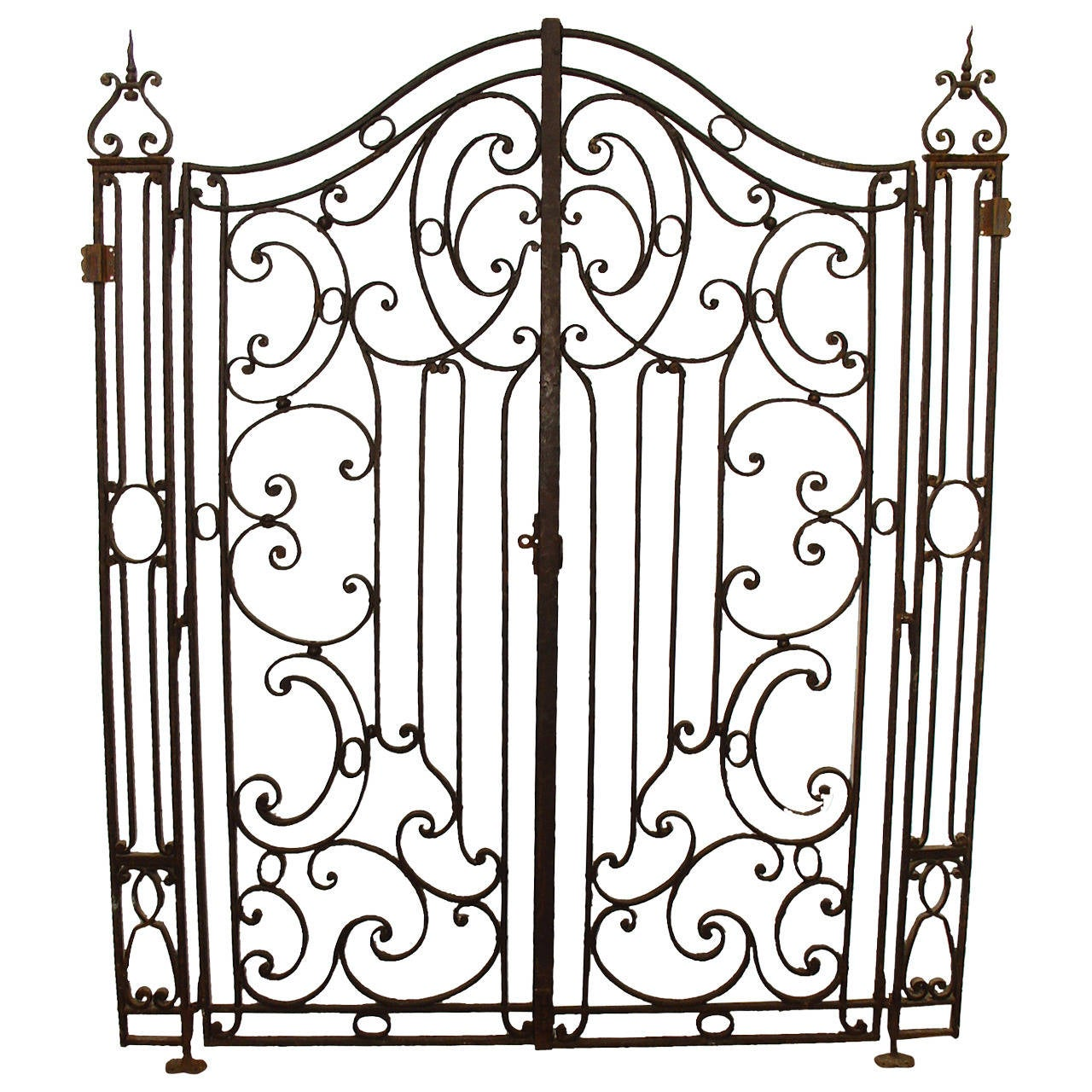 18th century iron gates from france at 1stdibs 29th Century 18th century iron gates from france for sale