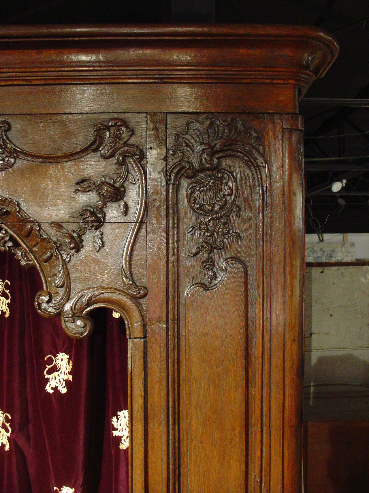 Regency Antique French Boiserie Door Surround from the 1700s For Sale