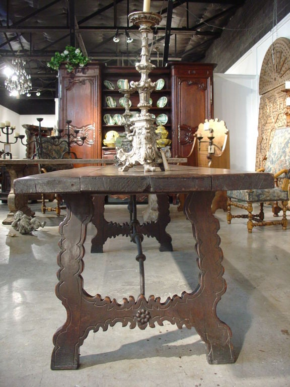 Beautiful Antique Spanish Catalan Table Early 1800 S At