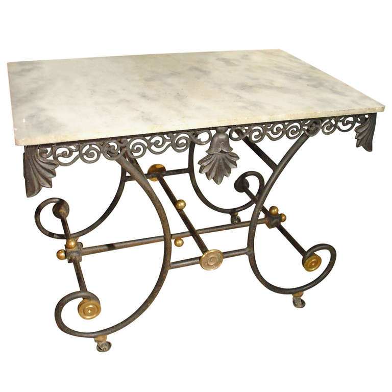Good Early 1900u0027s French Pastry Table 1