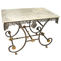 Early 1900's French Pastry Table