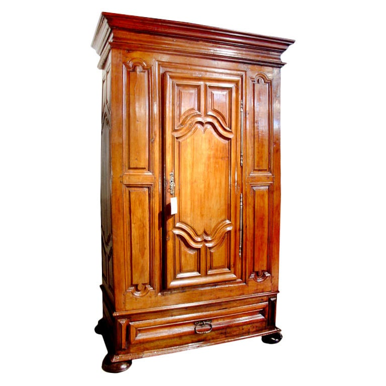 antique louis xiv period armoire droite at 1stdibs. Black Bedroom Furniture Sets. Home Design Ideas