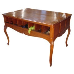 Louis XV Style 16-Slot Champagne Tasting Table from France