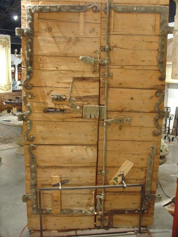 Period Antique Directoire Doors Poplar Wood Circa 1800