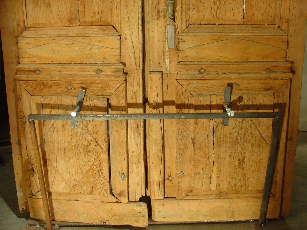 period antique directoire doors poplar wood circa 1800 at