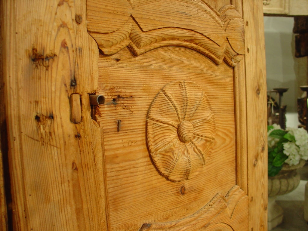 Pine Cabinet Doors Antique French Pine Cabinet Doors At 1stdibs
