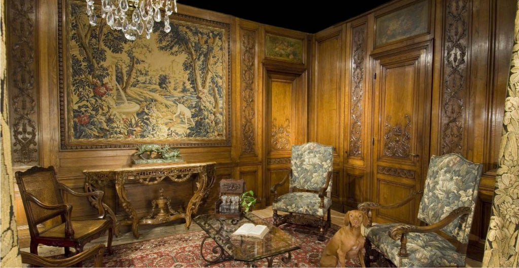 Antique Napoleon III Boiserie Room, Paris C. 1880 2