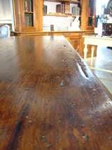 Italian Renaissance Style Oak Trestle Table image 7