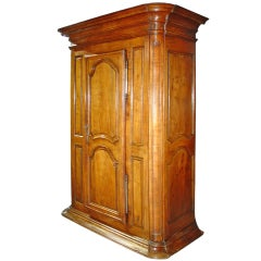 Imposing 18th Century Fruitwood Bonnetiere from France