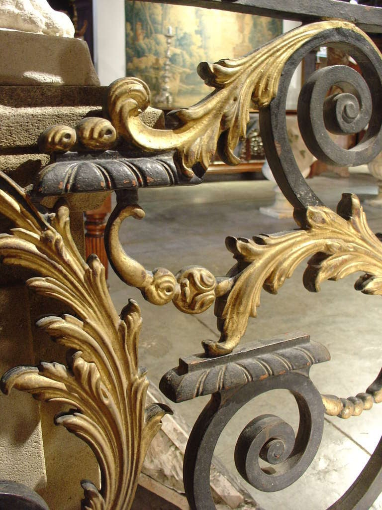 Antique Balcony Gate From A Normandy Castle 1800s At 1stdibs