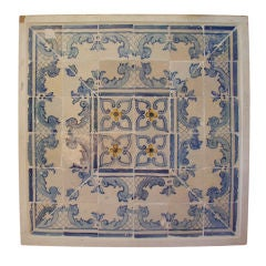 18th Century Portuguese Tile Plaque