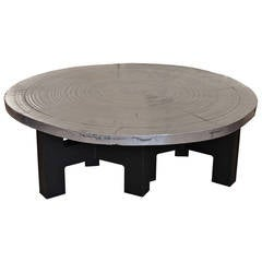 Rare Aluminium Table by Ado Chale