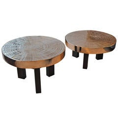 Pair of Tables by Ado Chale
