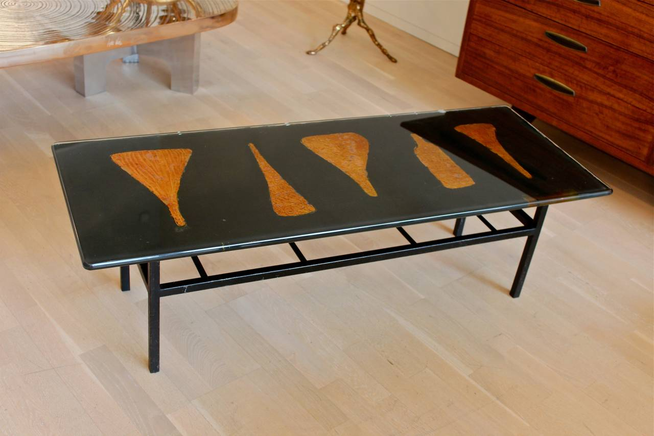 Italian Table by Angelo Bragalini For Sale
