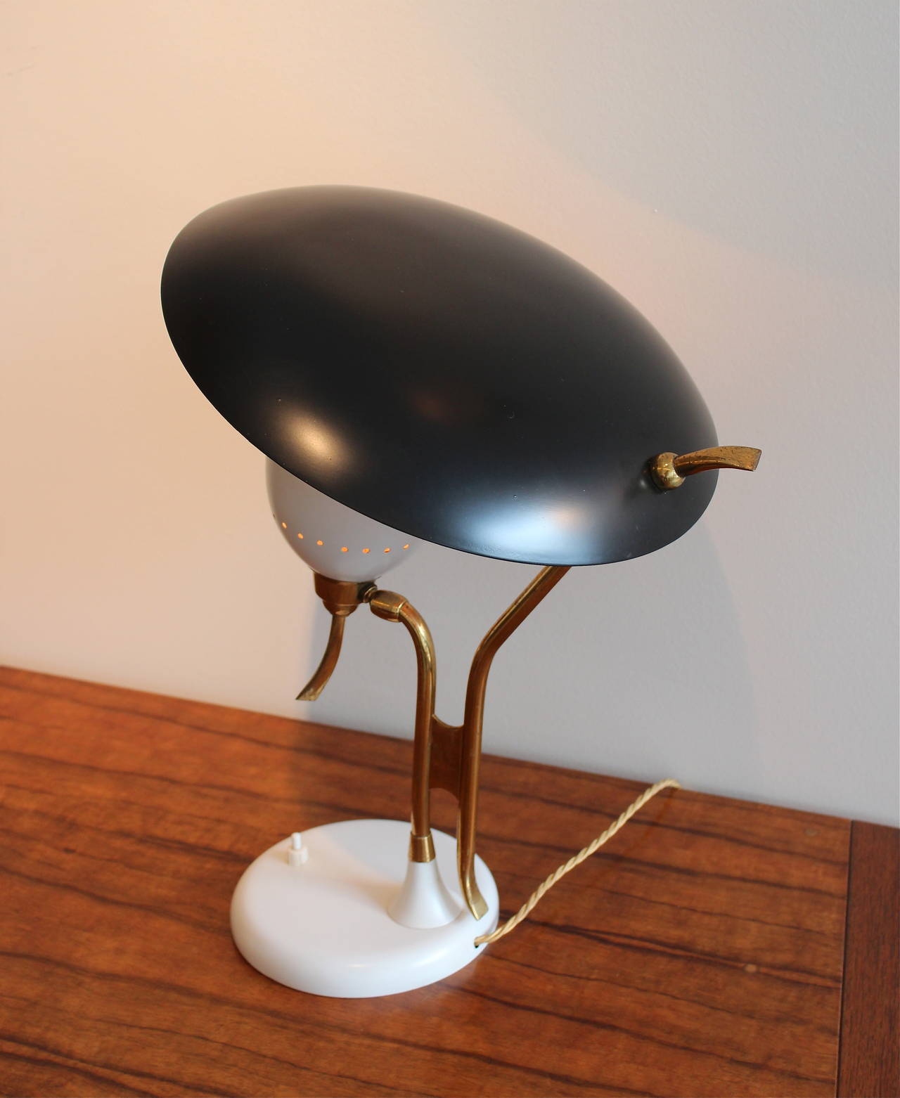 Italian Table Lamp by Lumen For Sale