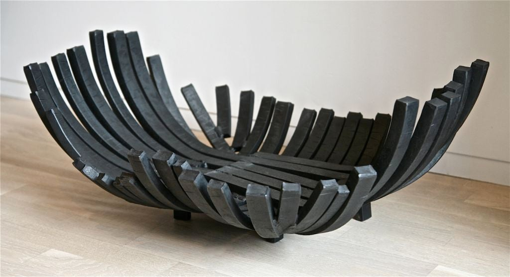 Fire Basket By Ado Chale At 1stdibs