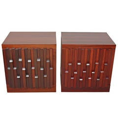 Pair of Side Cabinets by Luciano Frigerio
