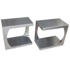 Pair of Side Tables by Van Heusden