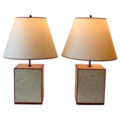 Pair of Table Lamps by Ado Chale